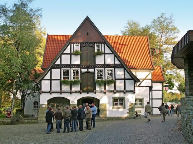 Die Teichsmühle ist beliebter Startpunkt für zahlreiche Gästeführungen (Foto: Wirtschaft & Marketing Soest GmbH).