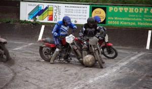Motoball-Altherren: Derby-Debüt im Kiersper Motodrom