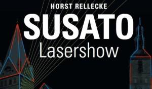 """SUSATO – Die Lasershow: """"Geschichte einer Stadt"""""""