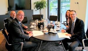 Firma Georg und Stadt Kreuztal kooperieren