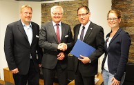 """Kreis erneut als """"Mittelstandsorientierte Kommunalverwaltung"""" zertifiziert"""