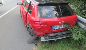 Schwerer Verkehrsunfall in Niederense