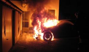 Werl: Pkw-Brand beschäftigt Polizei