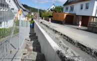 Dauerhafte Stabilität: Neue Stützmauer an Franz-Hoffmeister-Straße