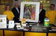 Sonderpostamt August Macke: 200 Briefmarkenfreunde im Kreishaus
