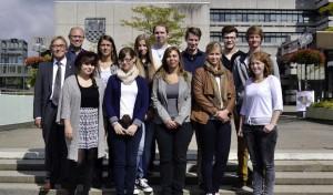 Neue Auszubildende bei der Stadt Iserlohn