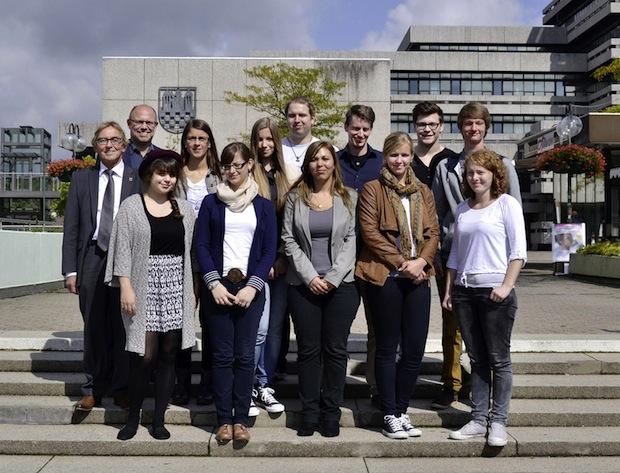 Photo of Neue Auszubildende bei der Stadt Iserlohn