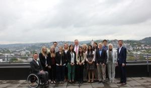 Elf neue Auszubildende beim Kreis Siegen-Wittgenstein