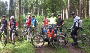 Letzte geführte Mountainbike-Tour in 2014