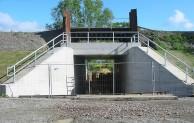 Bahnverkehr ruht für Hochwasserschutz in Mawicke