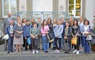 Schüler aus Budapest besuchen zum Abschied den Bürgermeister