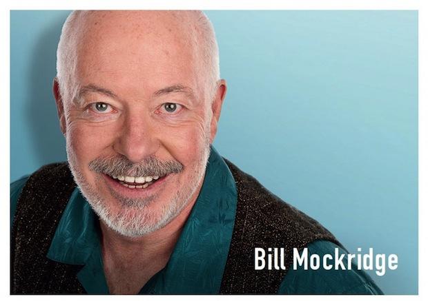 Photo of Kabarettist Bill Mockridge im Parktheater Iserlohn