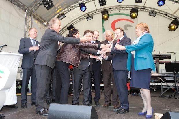 Photo of (Feucht-)Fröhlicher Abschluss der REGIONALE 2013