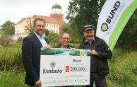 """Projekt """"Lebendige Auen für die Elbe"""": Krombacher mit 200.000 Euro-Spende"""