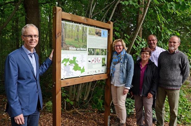 """Photo of """"Wälder um Welver"""": Vier neue Hinweistafeln informieren"""
