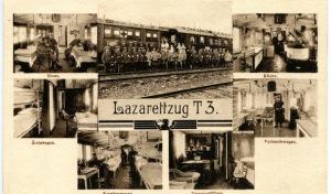Erster Weltkrieg: Referat über den Lazarettzug T3