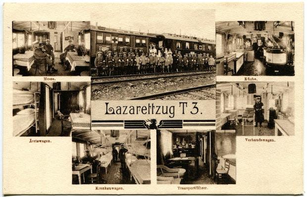 Photo of Erster Weltkrieg: Referat über den Lazarettzug T3