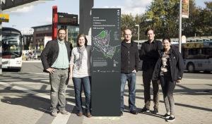 DENKFABRIK: Fußgängerleitsystem für die Innenstadt