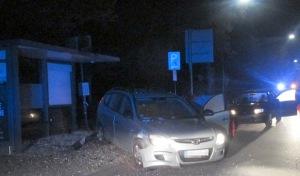 Auto übersehen – 12000 Euro Schaden