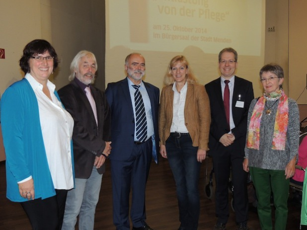 Festredner und Organisatoren des Jubiläums - Foto: Märkischer Kreis