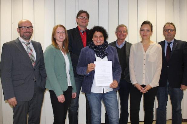 Die Akteure der Freien Wohlfahrtspflege vereinbarten mit dem Hochsauerlandkreis eine enge Zusammenarbeit, um Zuwanderern schnelle Orientierung zu geben (Foto: Pressestelle Hochsauerlandkreis).