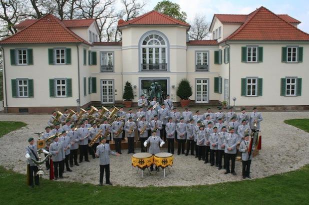 Das Heeresmusikkorps 2 Kassel (Foto: Stadt Lippstadt)