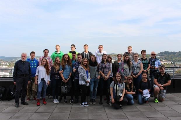 Photo of Schüler aus Danzig zu Besuch in Siegen-Weidenau