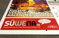 SÜWENA: Starke Marke im Kultur- und Veranstaltungskalender 2014/15