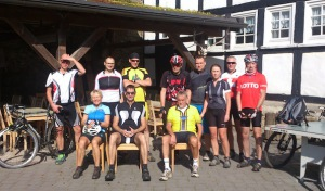 "Mountainbiker ""on Tour"" mit Klaus Jung"