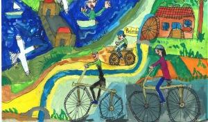 """300 Kunstwerke im Kinder- und Jugendmalwettbewerb """"Möhnemaler"""""""