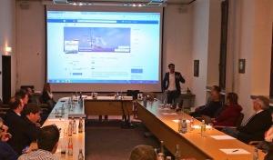 """Praxisvortrag """"Erfolgreiches Marketing auf Facebook"""" ein voller Erfolg"""