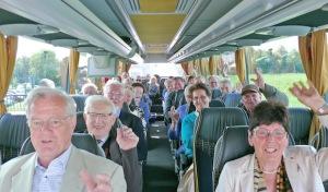 Handwerks-Senioren Soest per Bus und Schiff auf Ausflugs-Tour
