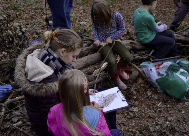 """Das Sprachcamp im """"Zauberwald"""" (Foto: Stadt Iserlohn)"""