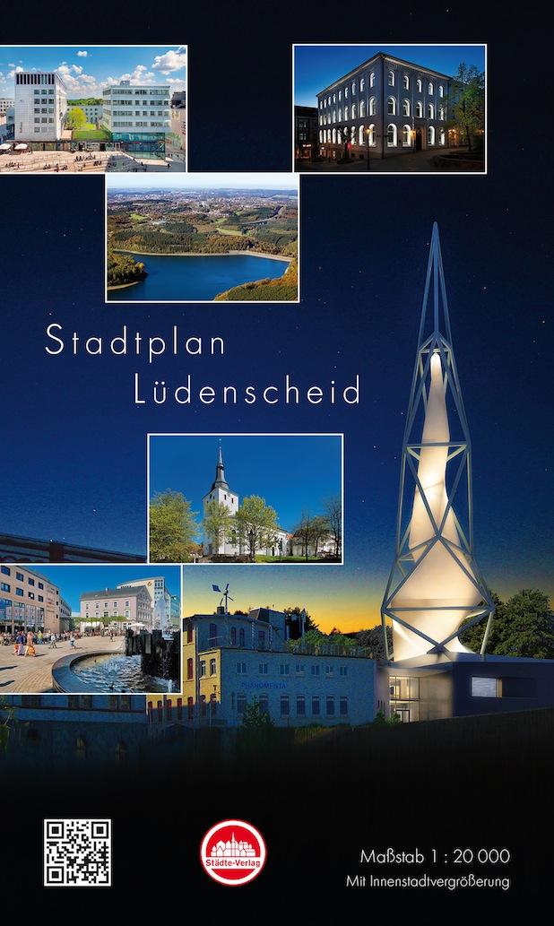 Photo of Taschenstadtplan Lüdenscheid ist erschienen