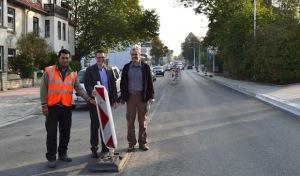 Ausbau der Westfalenstraße – Letzte Arbeiten und Freigabe