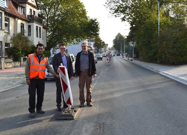 Photo of Ausbau der Westfalenstraße – Letzte Arbeiten und Freigabe