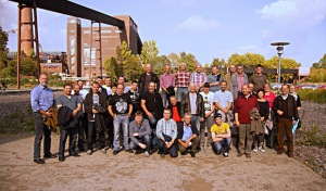 38 Westkalk-Mitarbeiter besuchen Zeche Zollverein