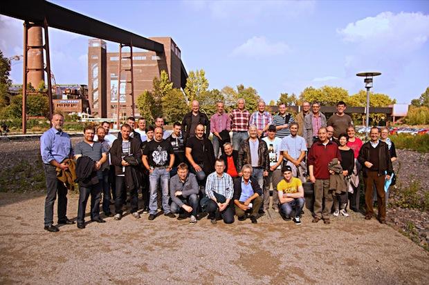 Photo of 38 Westkalk-Mitarbeiter besuchen Zeche Zollverein