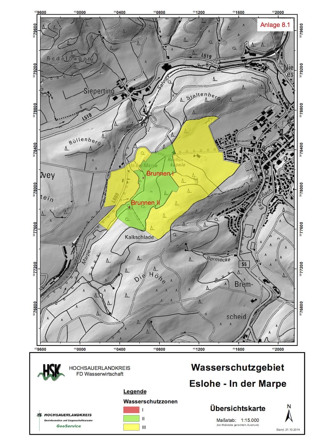 """Photo of Geplantes Wasserschutzgebiet """"In der Marpe"""": Unterlagen liegen aus"""