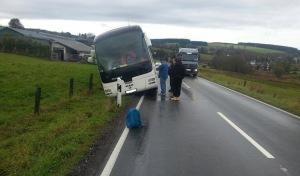 Reisegruppe mit 30 Kindern hatte Glück im Unglück