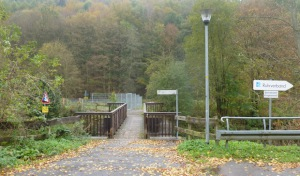Kraghammer: Sanierung der Fußgängerbrücke