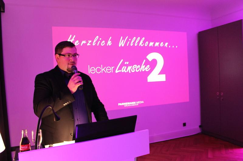 Foto: Sven Parnemann präsentierte am heutigen Abend die 2. Ausgabe von LeckerLünsche.
