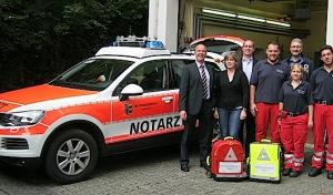 Attendorn: Neues Rettungsdienst-Fahrzeug