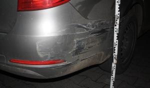 Geseke: Skoda beschädigt und geflüchtet