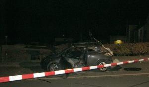 Möhnesee-Körbecke: Fahrzeug explodiert