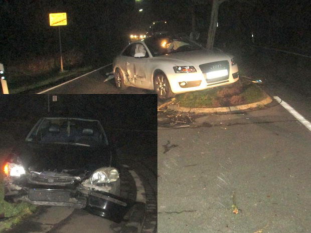 Photo of Wickede: Audi gegen Baum geschleudert