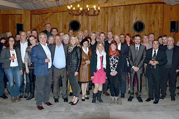 Vertreter von Rat und Verwaltung der Stadt Olsberg waren jetzt in der nordfranzösischen Partnerstadt Fruges zu Gast (Foto: Stadt Olsberg).