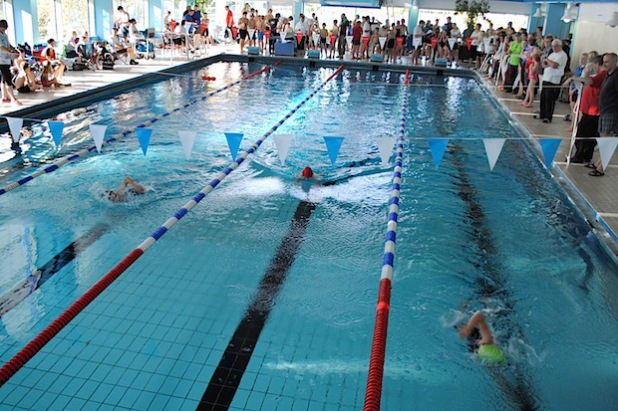 164 Aktive machten beim Herbstschwimmfest des TuS Velmede-Bestwig im Mescheder Hallenbad ihre Besten aus (Foto: TuS Velmede-Bestwig).