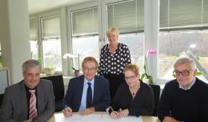 Bezirksregierung und von-Vincke-Schule Soest kooperieren