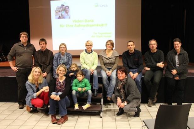 Der Jugendamtselternbeirat (Foto: Stadt Hemer)